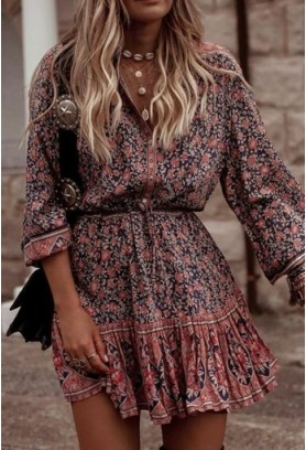 Как правильно носить платья в деревенском стиле